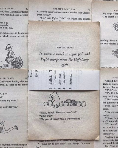 10 Winnie the Pooh Book Pages